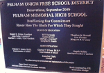Pelham Memorial High School Re-Dedication October 2, 2010